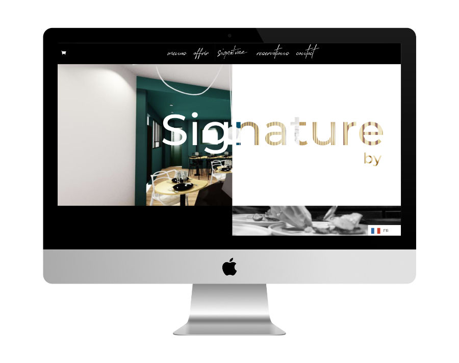 Site Web Restaurant Signature